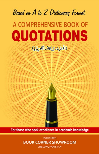 A COMPREHENSIVE BOOK OF QUOTATIONS (P.B)