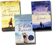 KHALED HOSSEINI 3 BOOKS PACK - (AND THE MOUNTAINS ECHOED, A THOUSAND SPLENDID SUNS, THE KITE RUNNER) PAPERBACK