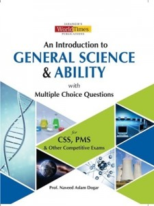 GENERAL SCIENCE & ABILITY WITH MCQS