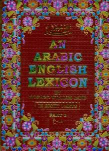 AN ARABIC ENGLISH LEXICON (8 VOLUME SET)