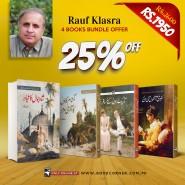 RAUF KLASRA | 4 BOOKS BUNDLE OFFER