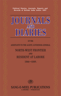 JOURNALS AND DIARIES :ASSIS.TO AGENT, GOV.NWFP
