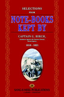 SELECTIONS FROM NOTEBOOK KEPT BY CAPTAIN BIRCH