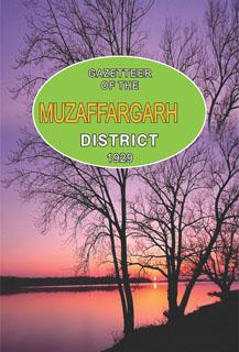 GAZETTEER OF THE MUZAFFARGARH DISTRICT 1929