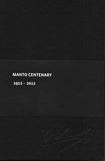 MANTO CENTENARY 1912-2012 (:)