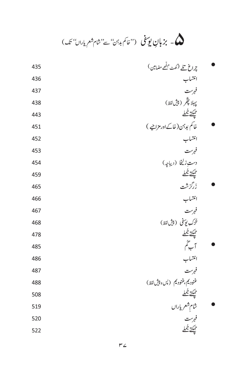 MUSHTAQ AHMAD YUSUFI; KUCH YADAIN KUCH BATAIN
