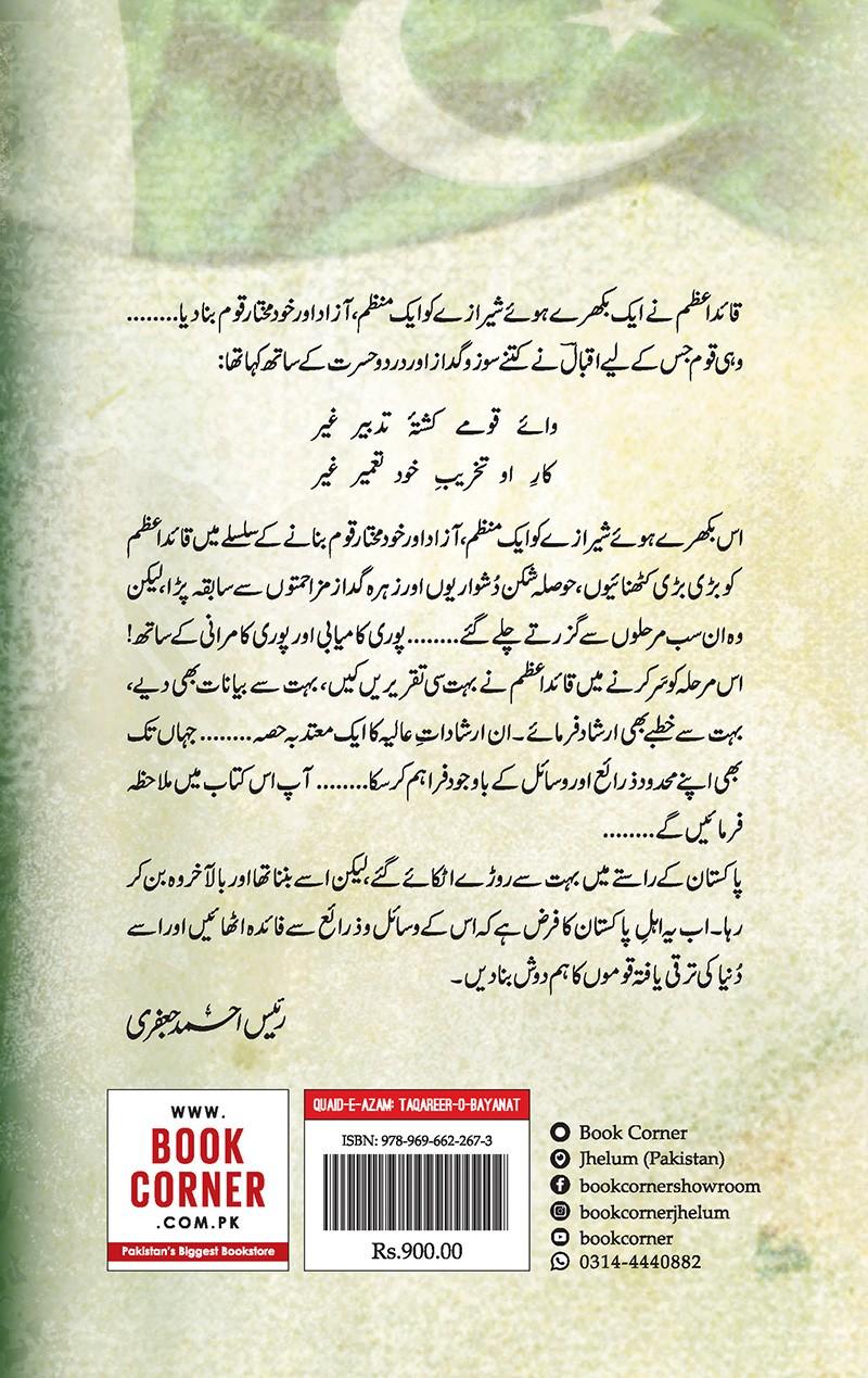 Quaid e Azam: Taqareer o Bayanat