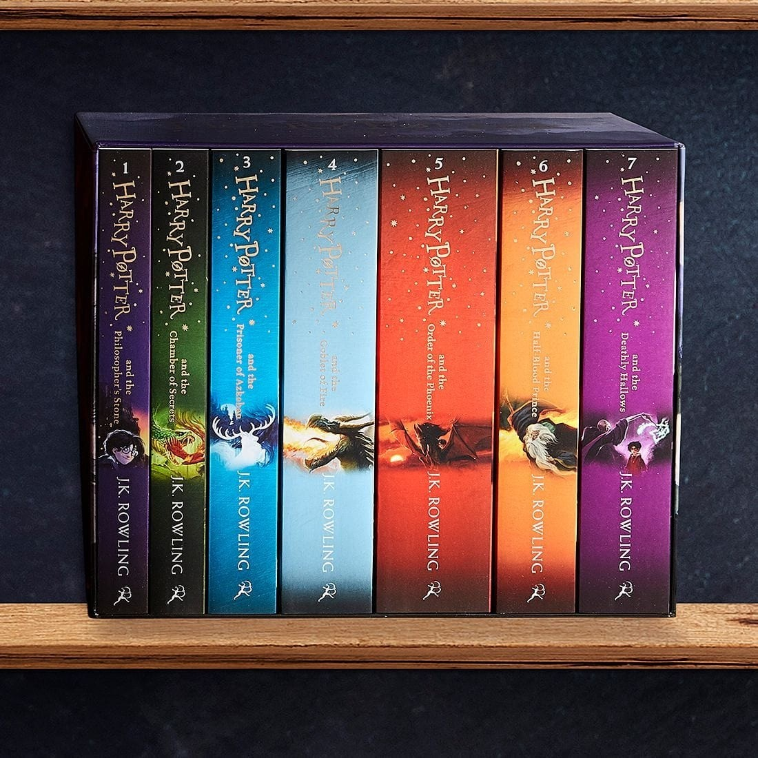 HARRY POTTER THE COMPLETE COLLECTION (7 BOOKS SET)